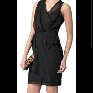 Diane Von Furstenberg Isabel Dress Womens 6 Black
